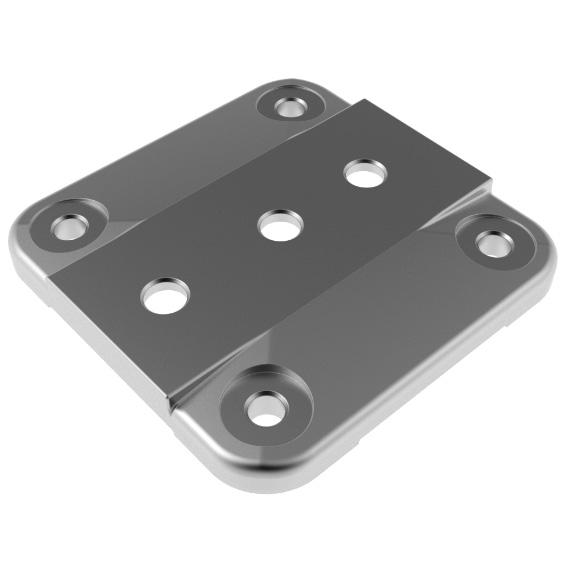 Foot Plate 45 / 60 / 90 - 135 3D