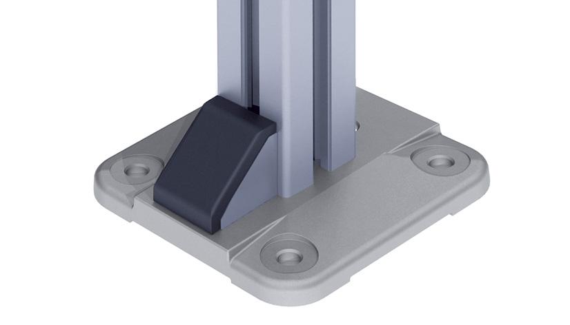 Foot Plate 45 / 60 / 90 - 135 APP