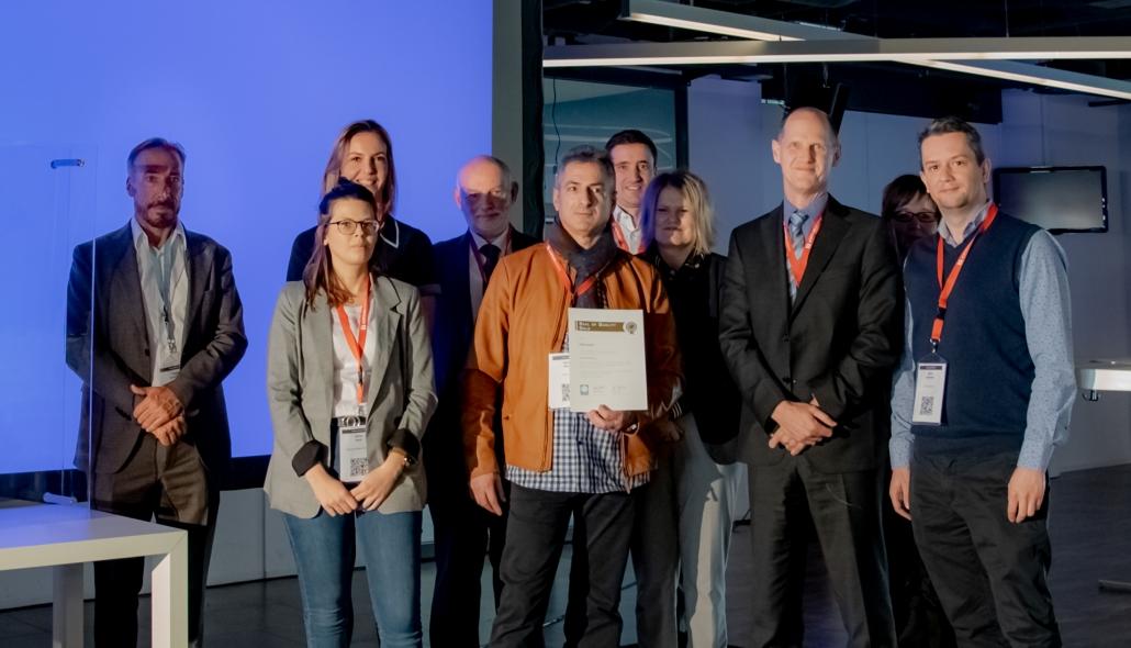 Das FATH Team bei der Verleihung des 'Golden Quality Seal'